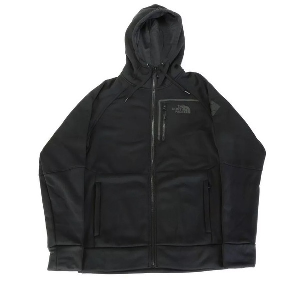 a6ef80268 The North Face Mack Ease FZ Black Hoody Size Men L NWT